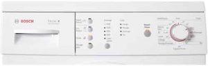 lave-linge Bosch WAE28172FF vue panneau de commande
