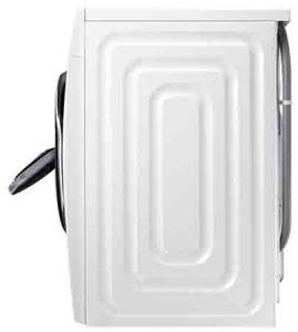 Machine à laver SAMSUNG WW91K6404QW vue de coté
