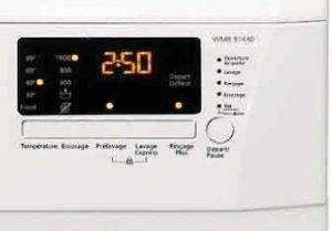 machine a laver BEKO WMB 91430 panneau de controle LED
