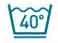 Machine a laver - Lavage à 40°C maximum en programme textiles délicats