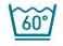 Machine a laver - Lavage à 60°C maximum en programme textiles délicats