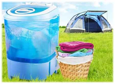 Mini lave-linge, petite machine à laver, ou encore petit lave-linge, on ne sait plus comment nommer cet appareil qui pourait nous suivre en camping et nous rendre de grand service de lavage...